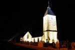 Notre église illuminée